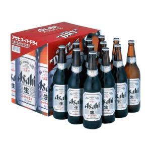 アサヒビール アサヒスーパードライ 大瓶 12本 1ダースカートン詰 EX-12 お酒屋さんジェーピー 宅配・配達・通販 安いよ