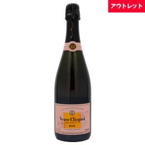 ヴーヴ クリコ ロゼ ローズラベル ブリュット 750ml アウトレット シャンパン ボトルのみ シャンパン スパークリングワイン