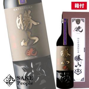 勝山 暁 純米大吟醸 720ml 16度 宮城 箱付 日本酒...