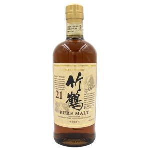 ■商品名 竹鶴 21年 ピュアモルト 700ml ニッカ ウイスキー  ■商品について アサヒより竹...