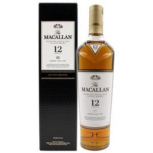 ウイスキー ザ マッカラン 12年 700ml 40度  箱付 ウィスキー スコッチ whisky osake-concier