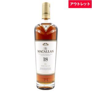 ザ マッカラン 18年 700ml 40度 ボトルのみ アウトレット ウィスキー スコッチ whisky|osake-concier