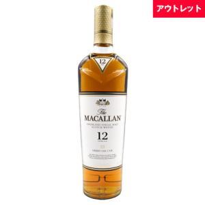ウイスキー ザ マッカラン 12年 700ml 40度 アウトレット ボトルのみ ウィスキー スコッチ  whisky osake-concier