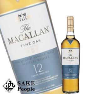 ウイスキー ザ マッカラン ファイン オーク 12年 700ml 40度 ボトルのみ ウィスキー スコッチ whisky osake-concier