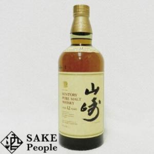 サントリーピュアモルトウイスキー山崎12年750ml43%旧ラベル[ウイスキー]|osake-concier