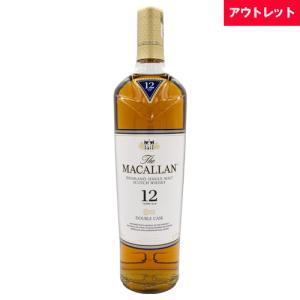 ザ マッカラン 12年 ダブルカスク 700ml 40度 ボトルのみ アウトレット ウィスキー スコッチ whisky osake-concier