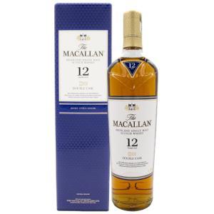 ザ マッカラン 12年 ダブルカスク 700ml 40度 箱付 ウィスキー スコッチ whisky osake-concier