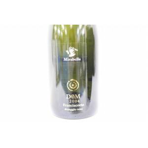 ミラベッラ DOM 2004年 フランチャコルタ ドサージュ ゼロ 750ml イタリア シャンパン ボトルのみ シャンパン スパークリングワイン|osake-concier