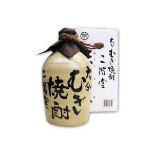 麦焼酎 二階堂 吉四六 壺入 25度 720ml|osake-yoshimura