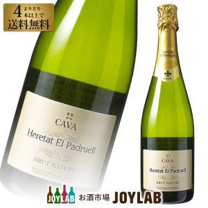 スパークリング ワイン シャンパン エレタット エル パドルエル ブリュット ナチュレ 750ml 6本選んで送料無料  帝国酒販|osakeichibajp
