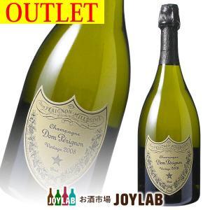 【アウトレット】ドンペリニヨン 白 2008 750ml 箱なし Dom Perignon シャンパン シャンパーニュ osakeichibajp