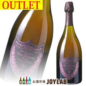 【アウトレット】ドンペリニヨン ロゼ 2006 750ml 箱なし Dom Perignon シャンパン シャンパーニュ osakeichibajp