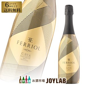 フェリオル カヴァ スパークリング ワイン スペイン カバ CAVA 750ml 6本選んで送料無料|osakeichibajp