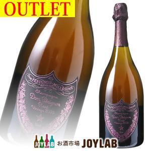 【アウトレット】ドンペリニヨン ロゼ 2005 750ml ラベルダメージ有り ボトル|osakeichibajp