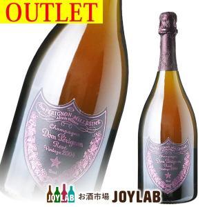 【アウトレット】ドンペリニヨン ロゼ 2004 750ml ボトルのみ 帝国酒販|osakeichibajp