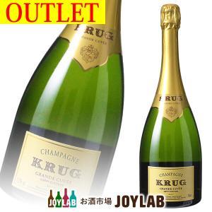 【アウトレット】クリュッグ グランキュヴェ 750ml シャンパン ワイン KRUG BRUT 帝国酒販|osakeichibajp