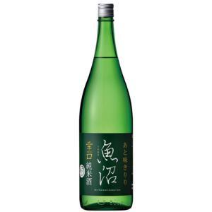 日本酒 辛口魚沼 純米酒 1800ml 新潟県/白瀧酒造|osakenomiki