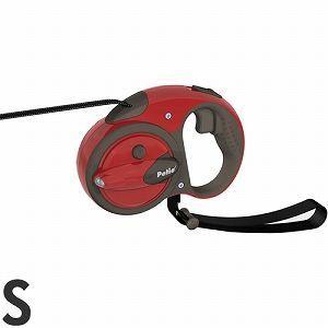 ペティオ 伸縮リード ナイトウォーカー リールリード スマートコントロール S 小型犬用 フェニックスレッド