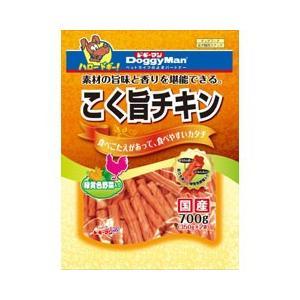 ドギーマン 犬用おやつ こく旨チキン 緑黄色野菜入り 700g(350g×2袋)
