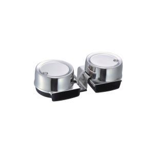 ステンレス ミニエレクトリックホーン 12V ツイン|osawamarine