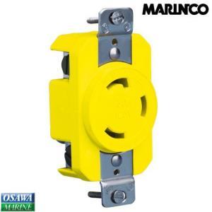 外部電源コンセント マリンコ(MARINCO)コンセント 305CRR|osawamarine
