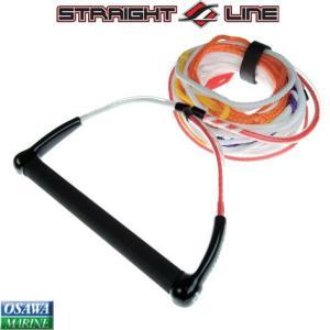 水上スキー用ハンドル&ライン STRAIGHT LINE(ストレートライン) 5セクション|osawamarine