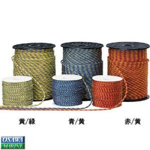 多目的ロープ ラニヤード 赤/黄 3.0mm|osawamarine