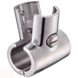 ステンレス製 分割 T型継手 25φパイプ 90度 ジョイント DIY 手すり|ユニマットマリン