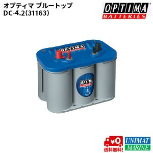 オプティマ バッテリー(OPTIMA BATTERIES) ブルートップ(BLUE TOP) BT DC-4.2L(D900M)|osawamarine