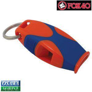 ホイッスル・笛 FOX40(フォックス フォーティー)シャークス オレンジ/ブルー osawamarine