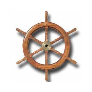 舵輪(ダリン/ラット) 直径46cm|osawamarine
