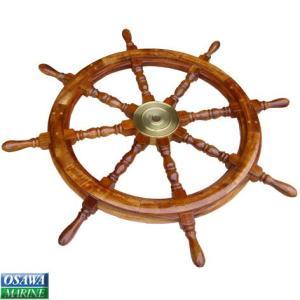 舵輪(ダリン/ラット) 直径91cm|osawamarine