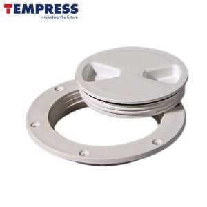 テンプレス(TEMPRESS) デッキプレート 4インチ|osawamarine