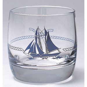Plastimo(プラスチモ) ウイスキー グラス マリーン柄 200ml 35906A|osawamarine