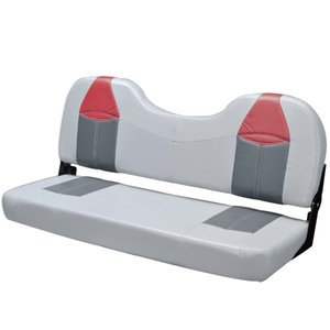 ボートシート フラットベンチシート レッド 椅子 2人掛け|osawamarine