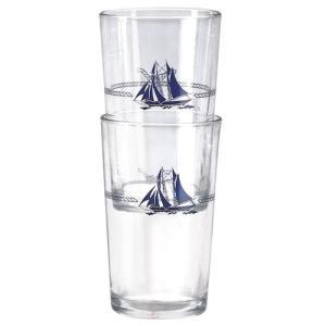 Plastimo(プラスチモ) ジュース グラス マリーン柄 280ml 38027A|osawamarine