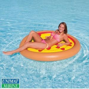 ピザ柄 フローター 浮く 浮き具 プール 海 水遊び|osawamarine