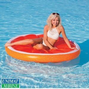 オレンジ 浮く 浮き具 プール 海 水遊び|osawamarine