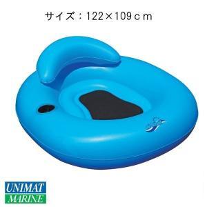 フロートチューブ カラー:アクアブルー/浮く 浮き具 プール 海 水遊び|osawamarine