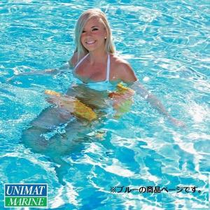 サドルフロータ― カラー:ブルー/浮く 浮き具 プール 海 水遊び|osawamarine