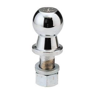 ヒッチボール スチール ボルト長52x径25mm 最大牽引重量2270kg|osawamarine