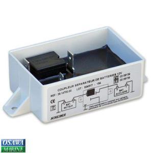充電分配器 バッテリーセパレーター 110AH以下 osawamarine