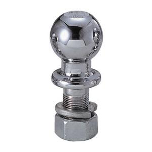 スチール ヒッチボール ボルト長52x径25mm/最大牽引重量2270kg|osawamarine