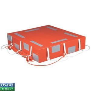 小型船舶法定備品 救命浮器 FMU12 12人用|osawamarine