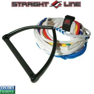 水上スキー用ハンドル&ライン STRAIGHT LINE(ストレートライン) 8セクション|osawamarine