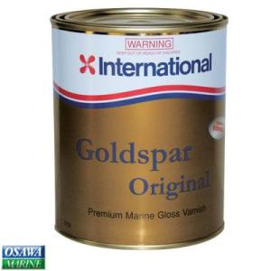 木部用ワニス インターナショナル ゴールドスパーオリジナルグロス 1L つやあり|osawamarine