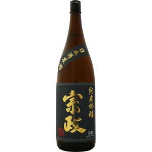 宗政 純米吟醸 -15 1800ml 【清酒:佐賀県】
