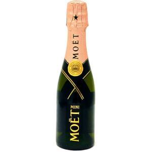 モエ&シャンドン ブリュット ロゼ 200ml 正規 【果実酒:シャンパン】|osazou