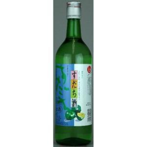 松浦酒造 鳴門鯛 すだち酒 720ml 【リキュール:国産リキュール】