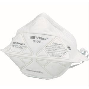 3M Vフレックス(TM) 折りたたみ式防護マスク 9105 N95 レギュラーサイズ 50枚入|osc-shop